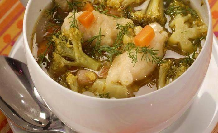 Дієта номер 5 супи рецепти