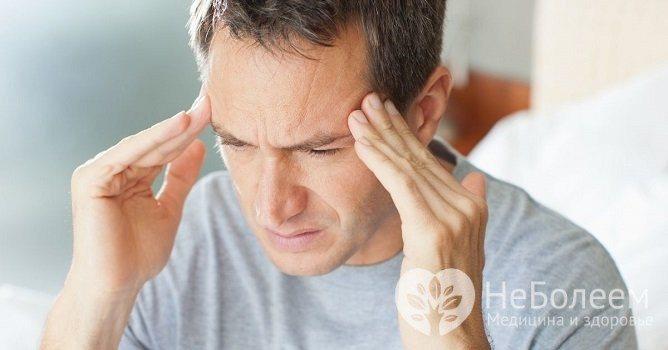 Для діабетичної енцефалопатії характерне Відчуття «несвіжої» голови, Порушення сну, часті Головні болі