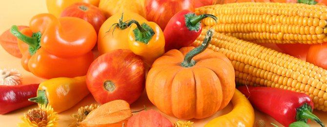 Для печінки корисно вживати в їжу фрукти та овочі помаранчевого і червоного кольору