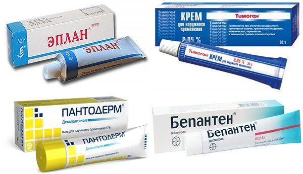 додаткові креми при дерматіті
