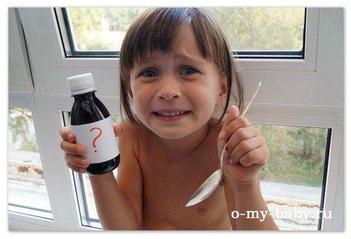 Ефектівні сиропи від кашлю для дітей.