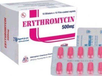 еритроміцин таблетки