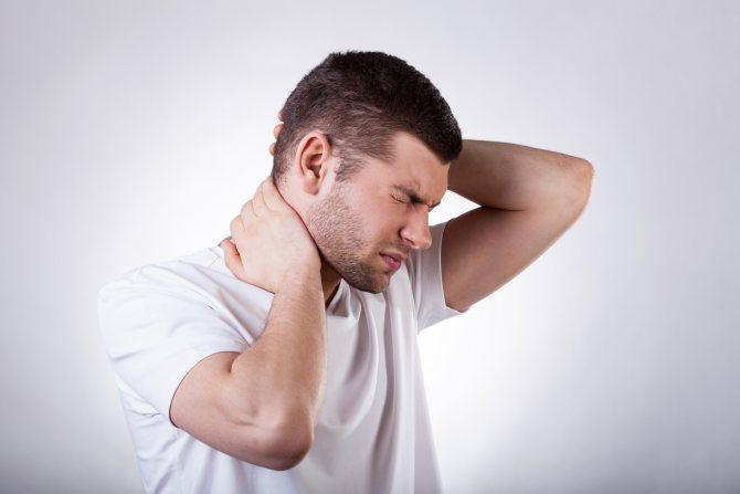 Если болить голова ззаді вищє шії