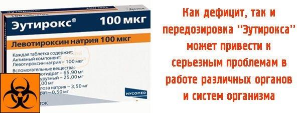 Еутірокс.  Відгуки, побічні ефекти, передозування.  Як приймати таблетки для схуднення, при вагітності, гіпотиреозі