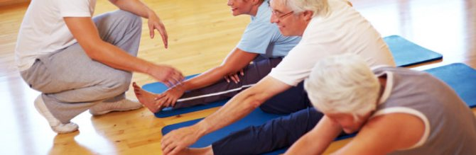 фізіотерапія і гімнастика