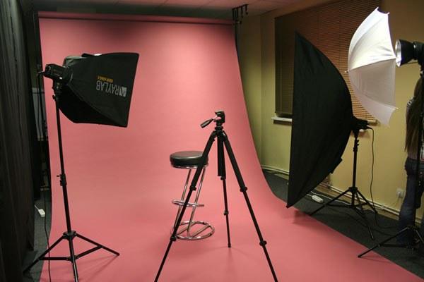 Фотофон із тканини для фотостудій