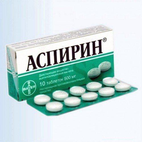 Фото: препарат Аспірин