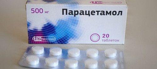 Фото: препарат Парацетамол
