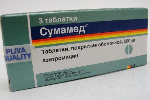 Фото: препарат Сумамед