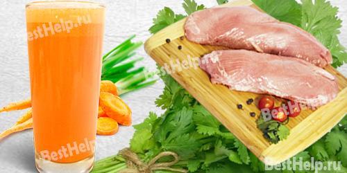fresh karrotin - Залізо без м'яса: чи можливо це? Продукти, багаті залізом