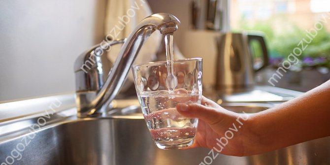 Фтор в питну воду