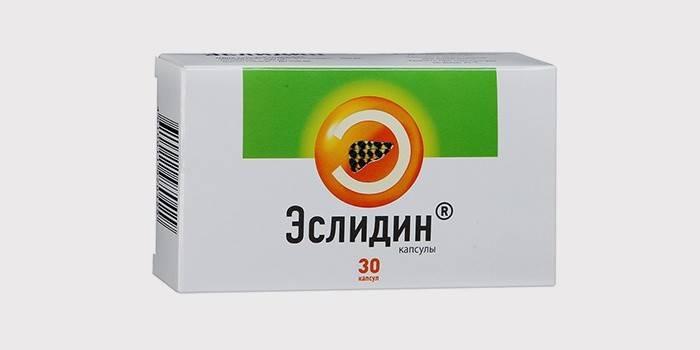 Гепатопротектор для печінки «Еслідін»