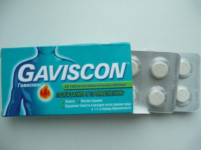 Гевіскон фармакологія
