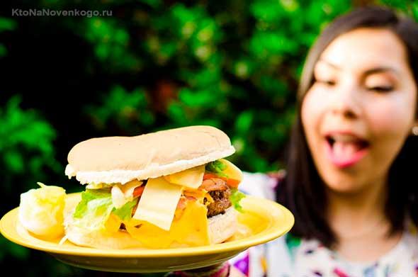 гігантський бутерброд