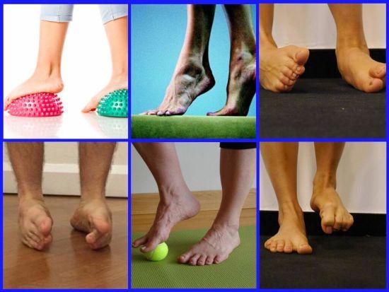 Гімнастика для стопи