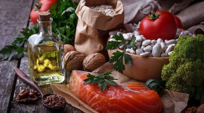 гіпохолестеринову дієта стіл №10
