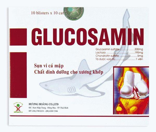 глюкозамін хондроїтін