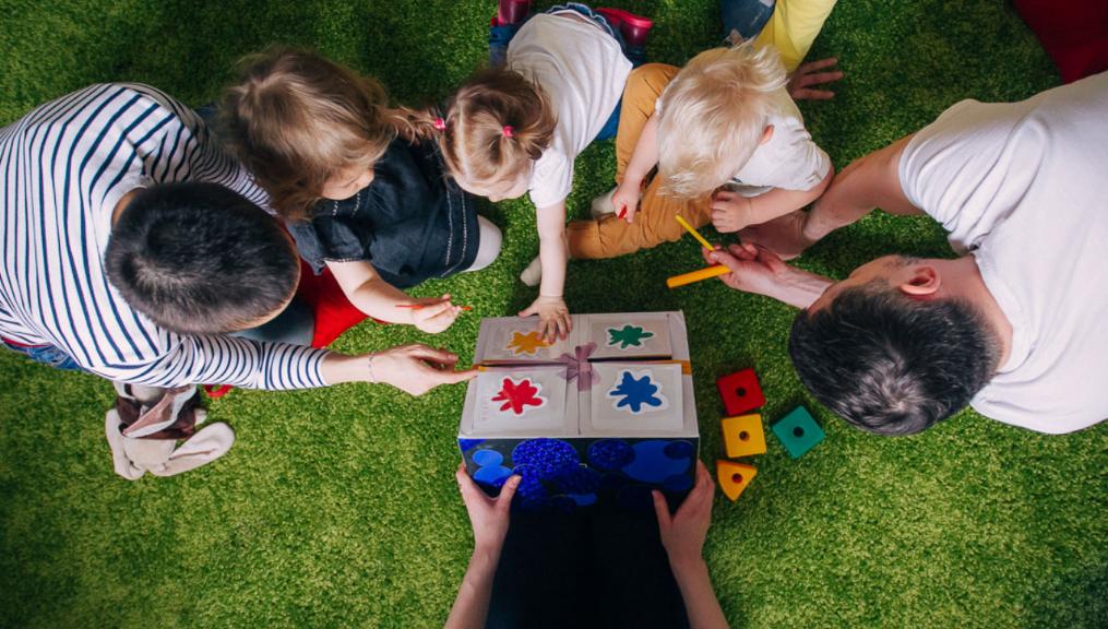 Новаторський підхід до вивчення англійської мови маленькими дітьми (фото сайту helendoron.ua)