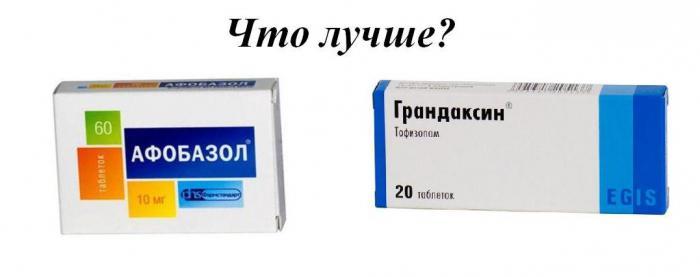 грандаксин аналоги ціна
