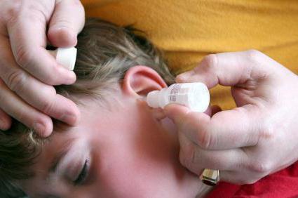 грибковий отит вуха