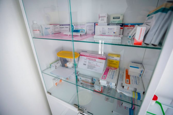 зберігання таблеток
