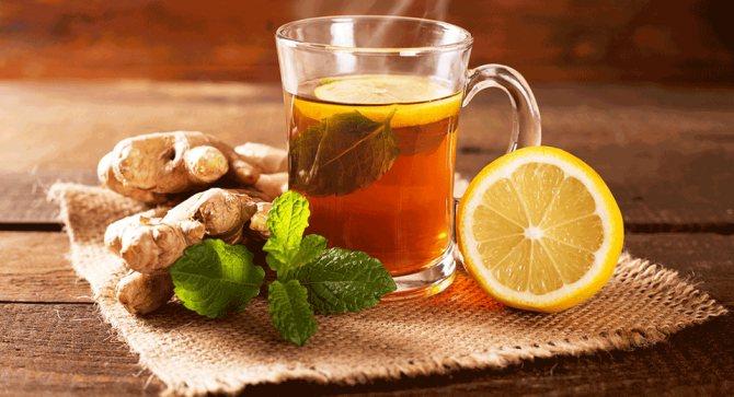 Імбир, лимон і м'ята від головного болю