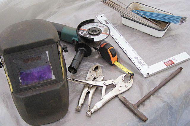 інструменти для зварювання