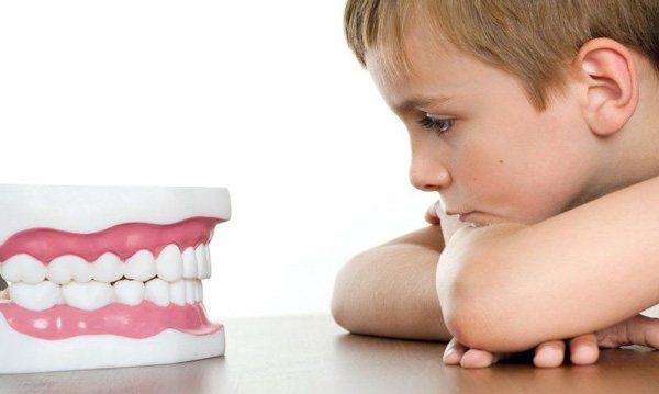 Викривлення середніх зубів