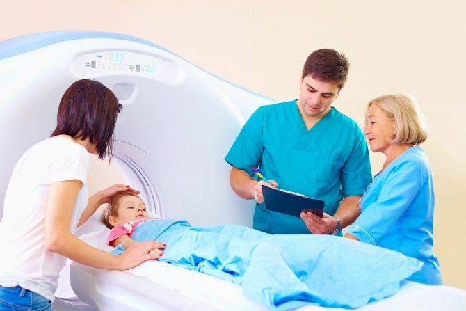 дослідження внутрішньочерепної гіпертензії с помощью томографа