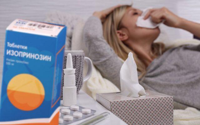 Изопринозин проти грипу