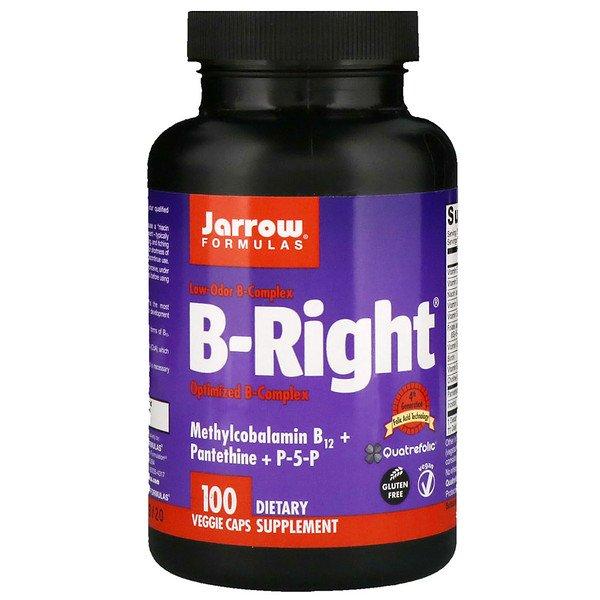 Jarrow Formulas, B-Right, 100 вегетаріанськіх капсул
