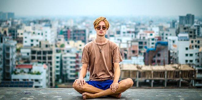 Йога в місті
