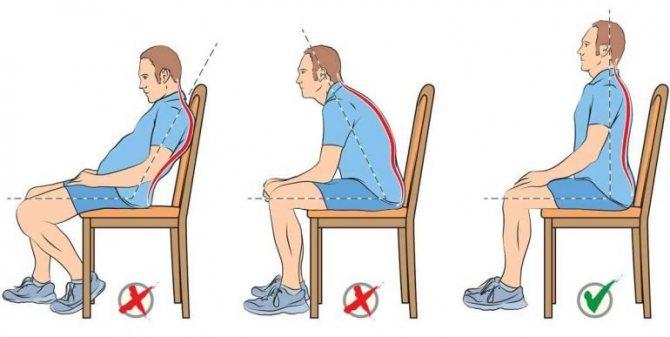 Як сидіти при геморої правильно?