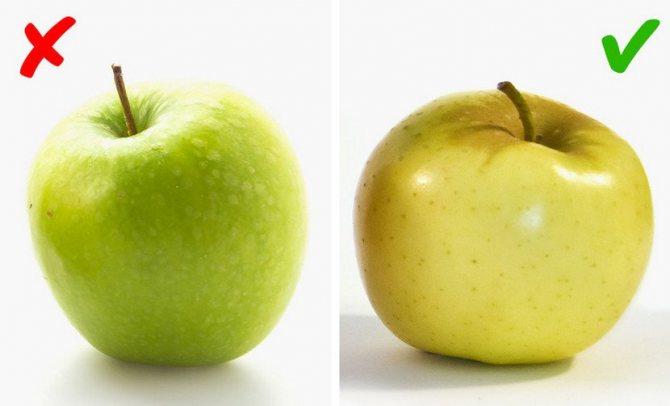 Як вибрати яблука