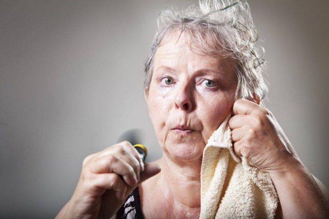 Як вилікувати синдром слабкості і пітливості