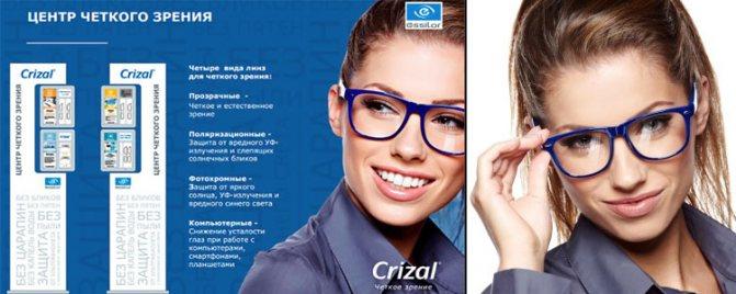 Які лінзи вібрато?  Виберіть Собі окуляри разом з Crizal Corner