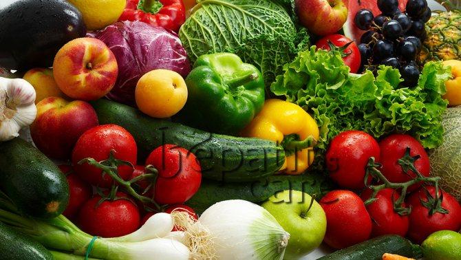 Які овочі та фрукти корисні