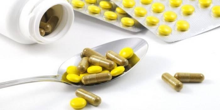 Капсули і таблетки