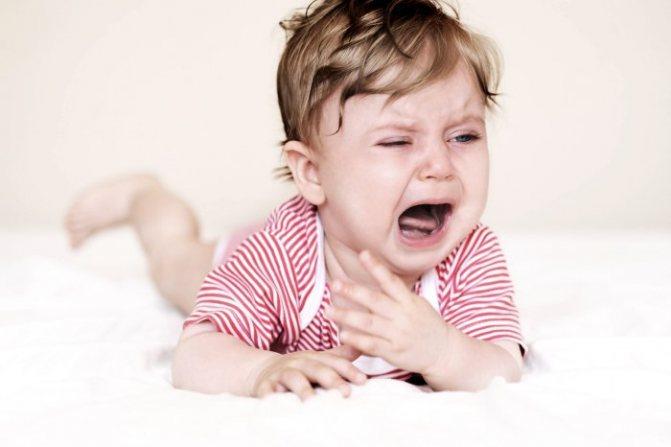 кашель у немовляти
