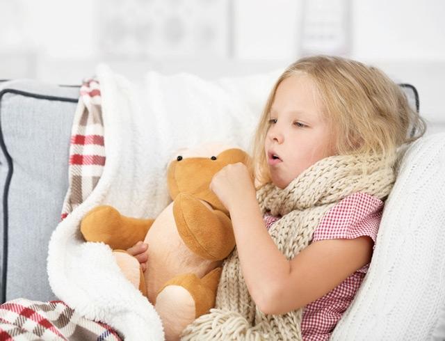 кашель у дитини