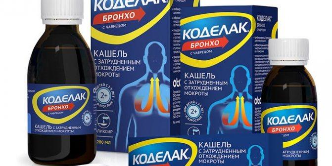 Коделак Бронхо і Коделак Бронхо з чебрецем: інструкція із застосування, відгуки, ціна на препарати