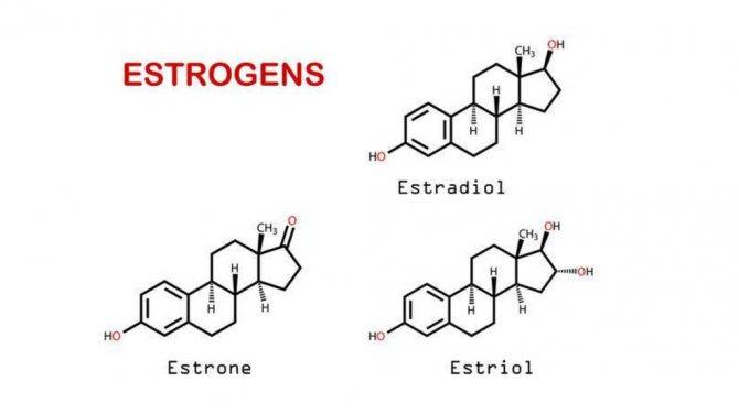 концентрація естрогенів