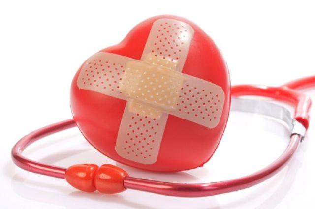 червоне серце