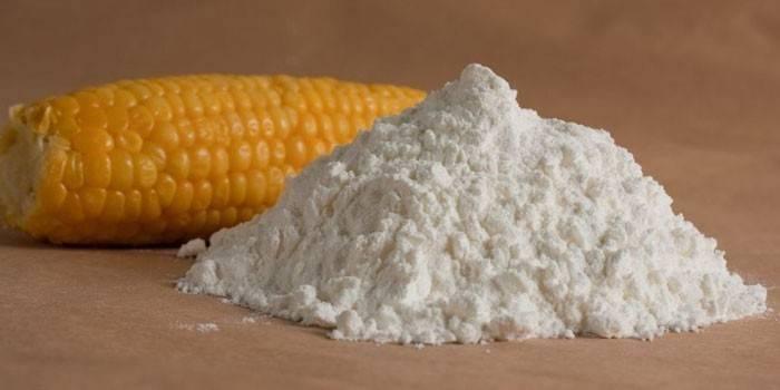 Кукурудзяний крохмаль