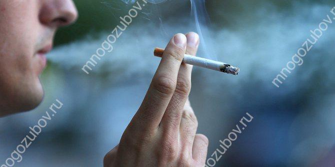 Куріння може призвести до оніміння мови