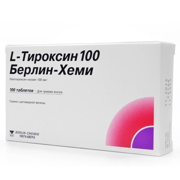 L Тироксин інструкція із застосування