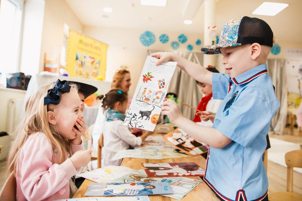 Веселий процес вивчення англійської мови у дітей