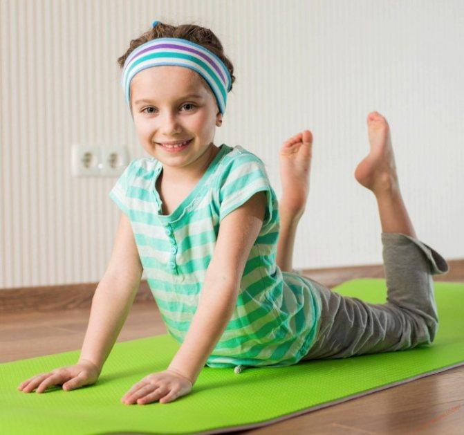 Лікувальна гімнастика для виправлення плоскостопості