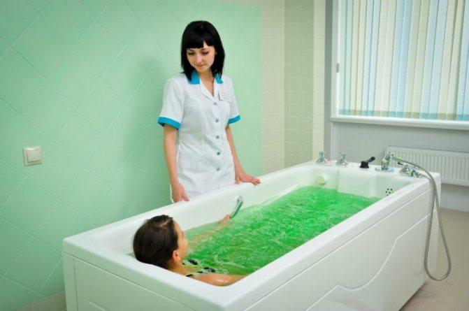 Лікувальні ванни роблять благотворний Вплив на організм хворого