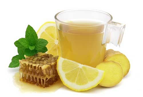 Лікування бронхіту чай лимон